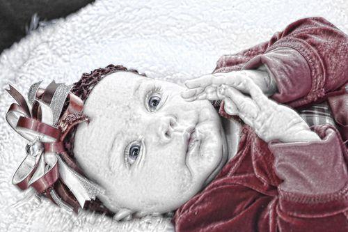 Renas baby 23-23-10 132 art 4x6